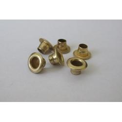 Oczka (nity) Reflex-1 - złote mosiądzowane