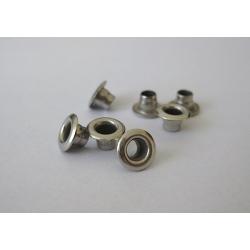 Oczka (nity) Reflex-1 - srebrne niklowane